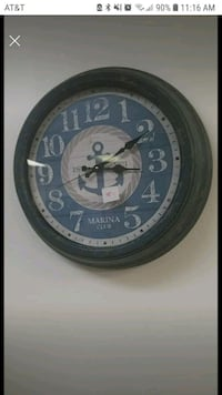 Anchor clock large