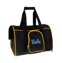 "UCLA 16"" Small Dog or Cat Pet Carrier"