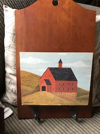 red and black chapel painting