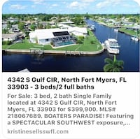 HOUSE For sale 3BR 2BA minutes from the river! Cape Coral