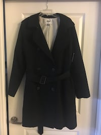 New Women's Black Pea Coat (w/ tags) Falls Church, 22042