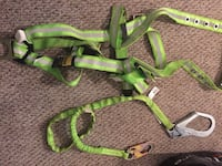 Harness and lanyard mint condition  Toronto, M1V 3M2