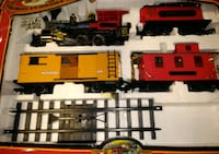 Vintage 1989 The Great American Express Train Set Wyoming, 49509