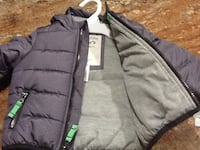 REDUCED PRICE! 12 months Gray zip up jacket for boys New York, 11106