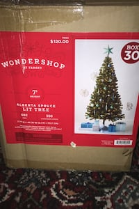 7ft Christmas tree and ornament decoration set - everything you need!  Westminster, 21157