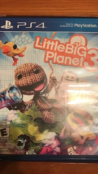 Little Big Planet 3 PS4 game cases