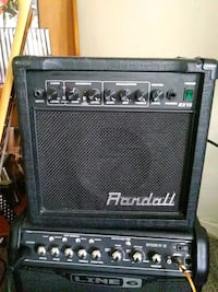Typhoon guitar and Randall amp Kitchener, N2G 1G4