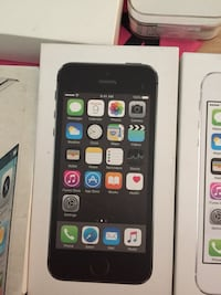 space gray iPhone 5s box