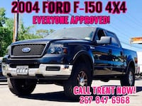 2004 Ford F-150 4x4 EVERYONE APPROVED!