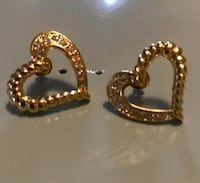 Heart and stone earrings Westminster, 92683