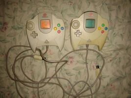 Sega Dreamcast Controllers with Ram Memory Pack $10 each