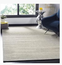 Safavieh NAT801C-6SQ Natura Collection Abstract Area Rug 6 feet by 6 feet Square Grey Halton Hills, L7G 0B2
