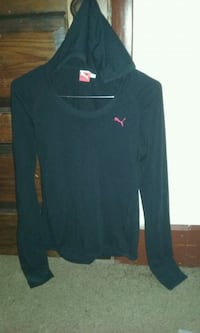 PUMA hooded long sleeve shirt