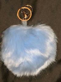 Large light blue heart purse pom pom Ooltewah, 37363