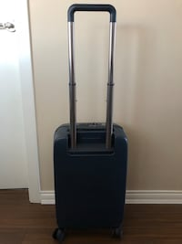 suitcase? Raden A22 Charging Smart Carry-On Spinner Luggage Matte Navy