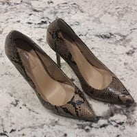 Top shop snake skin high heels 8.5 Fairfax, 22031