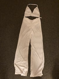 white and black striped pants Norfolk, 23511