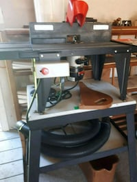 Sears Craftsman router and cast iron stand. Hamilton, L9C 6K4