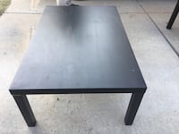 square black wooden coffee table Evergreen Park, 60805
