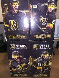 Exclusive Golden Knights Bobbleheads Set