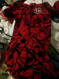 Black and red baby pjs Bronx, 10460