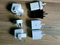 Assorted euro power adapters