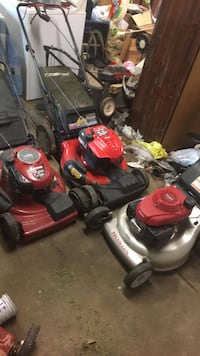 Lawnmower sale self propelled with bag 120$$$