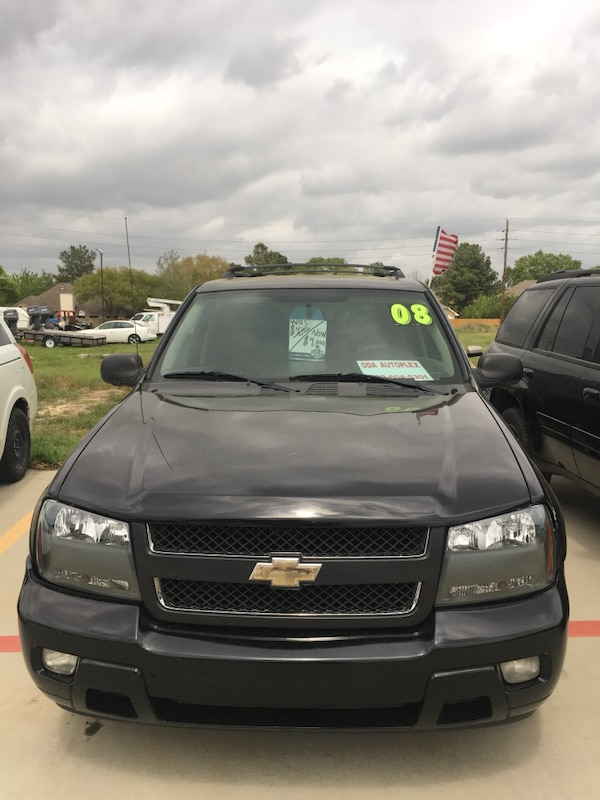 black Chevrolet SUV