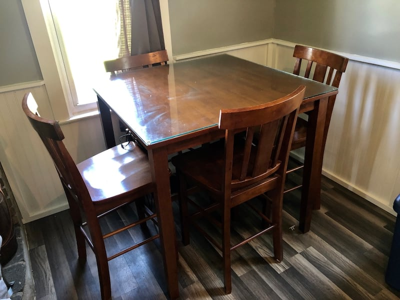 Used High Top Kitchen Table For Sale In Cortland Letgo