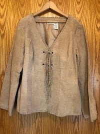 Ladies Lightweight Leather Jacket Lake Oswego