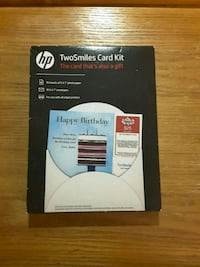 Two-Smiles Birthday / Holiday  Card Kit