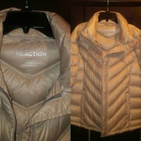 brown Kenneth Cole Reaction zip-up jacket photo co 321 mi