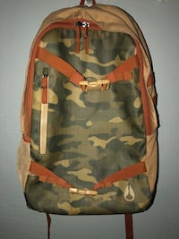 brown and gray camouflage backpack Los Angeles, 91402
