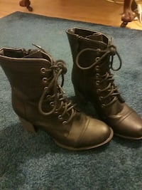 Combat boots with heel Middletown, 21769