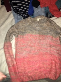 gray and red crew-neck sweater Myrtle Beach, 29577