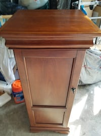brown wooden 2-door cabinet Fairfax