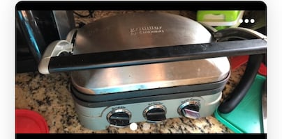 Griddle2 in 1 ,in a good condition.cuisintart