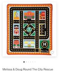 Melissa and Doug rug barely used  Rockville, 20850