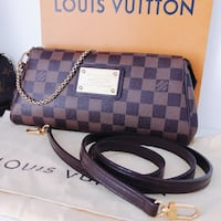 Louis Vuitton eva clutch  Toronto, M4G