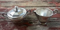 two stainless steel cooking pots Menifee, 92584