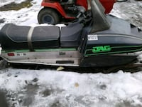 black and green JAG snowmobile Casselton, 58012