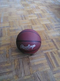 black and red Spalding basketball Toronto, M3N 2R6