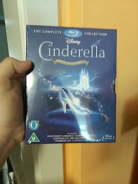 Disney Cinderella blu-ray disc set Surrey, V4N 5T9