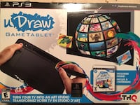 UDraw PS3 game console 801 km