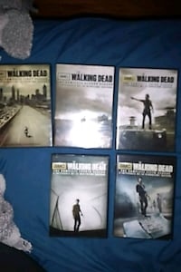 DVD Features TWD from Season 1-5