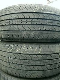 215 55 17 (2) YES WERE OPEN used tires, free install