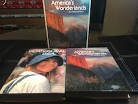 America's wonderlands / vacation USA book set