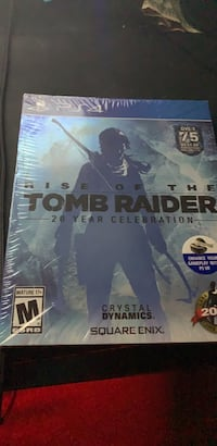colectable tombraider ps4 game (RARE) Annandale, 22003