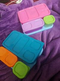 Rubbermaid Flatlay container sets w/ ice packs Gatineau, J8P 5L6