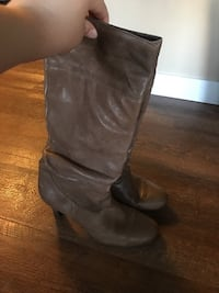 Brown Boots Size 8  Calgary, T2W 5A8